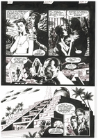 James Bond Serpent's Tooth, Book Three, page 8, black and white <BR>Thanks to Rasmus Paaske Larsen, Denmark
