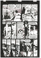 James Bond Serpent's Tooth, Book Three, page 13, black and white <BR>Thanks to Rasmus Paaske Larsen, Denmark