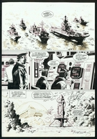 James Bond : Serpent's Tooth, Book Three, page 15, black & white