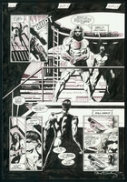 James Bond : Serpent's Tooth, Book Three, page 23, black & white