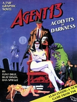 Agent 13, Acolytes Of Darkness, cover