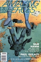 Amazing Heroes #159, cover