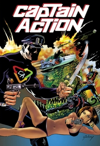 Captain Action issue #0, cover