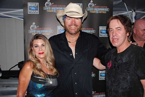 Toby Keith, Nanci and Paul