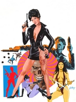 Modesty Blaise, commission piece for collectors, 2011