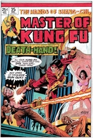 Master of Kung fu, issue #35, cover recreation