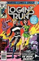 Logan's Run #6, cover